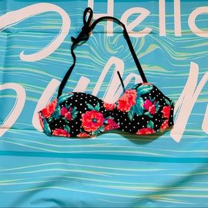 OP bikini top with removable straps